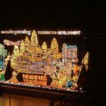 カンボジアの水祭りの夜